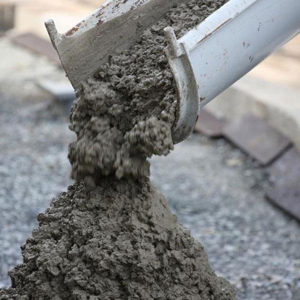 w бетоне