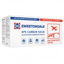 Пенополистирол sweetndale carbon solid 1000 1180-580-50-L type A